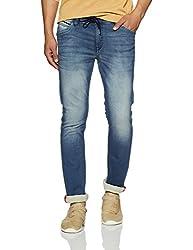 Arrow Mens Relaxed Fit Jeans (8907538541536_AJUJN2754_32W x 34L_Blue)