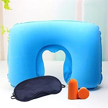 Wmshpeds Costume gonflable de voyage Sambo, U-oreiller, pvc épais oreiller flocage, oreiller de voyage avion portable adultes