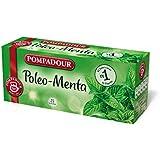 Pompadour - Poleo-Menta, Té, 25 bolsitas - [Pack de 8]