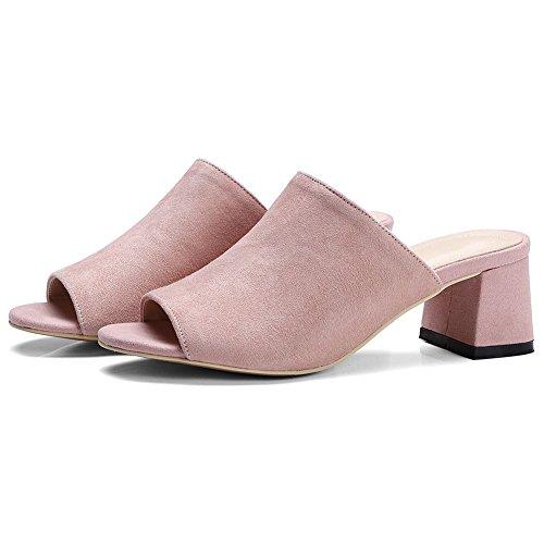 Sandales Peep Toe Brillant solide plate-forme élégant Respirant Chaussures à talon mince de la femme 6416628 Shxl2