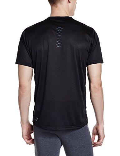 Puma Vent t-shirt uomo con logo Puma Black/White/Red Blast