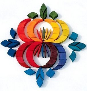 Grimms Spiel Und Holz Design Grimm's Kreis Farbspirale klein - 3