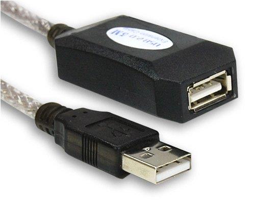 USB 2.0 aktiv Repeater Verstärker Kabel 5,0m Verlängerung [Elektronik]