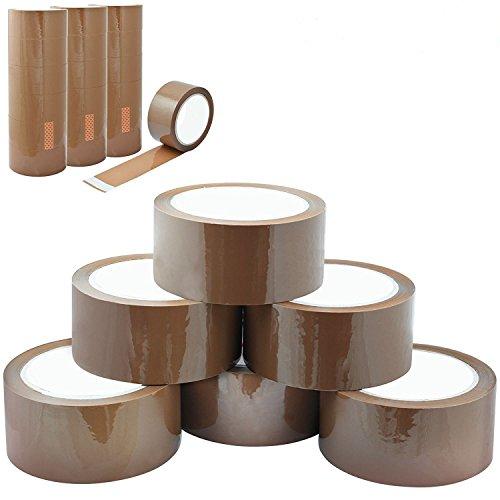 12 x Brown Packaging Tape Parcel...