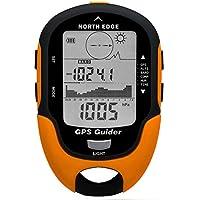 ASKAI Höhenmesser Barometer Kompass Schrittzähler, Thermometer Wetter Monitor für Klettern Trekking Camping Wandern