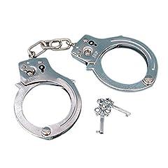 Idea Regalo - Palucart Manette di Metallo con Chiavi Manette Sexy Handcuffs