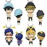 Takara Tomy Free! -Eternal Summer-: Iwatobi Swim Club Animal Costume Mascot Set of 4 by Free!