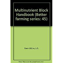 Multinutrient Block Handbook