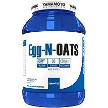Yamamoto Nutrition Egg-N-OATS integratore alimentare a base di proteine da albume d'uovo e farina d'avena gusto Cioccolato 1,5 Kg