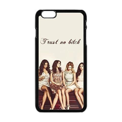 Toucher. Q- Pretty Little Liars TV Show personnalisée rigide en caoutchouc texturé Bumper Coque pour iPhone 66plus + 6S Plus