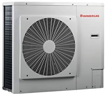 Immergas - Pompe a' chaleur air-eau Immergas Audex monophase' inverter - 5 kW, En stock