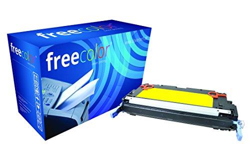 Preisvergleich Produktbild freecolor Q7582A für HP Color LaserJet 3800, Premium Tonerkartusche, wiederaufbereitet, 6.000 Seiten, 5 Prozent Deckung, YELLOW