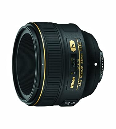 Nikon AF-S 58MM F1.4G - Objetivo para montura F (distancia focal 58 mm, apertura f/1.4) negro