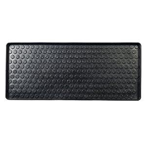 Tica Copenhagen – Fußmatte, Schuhabtropfschale – Shoe and Boot Tray – Muster: Dots – Gummi – 88 x 38 x 3 cm