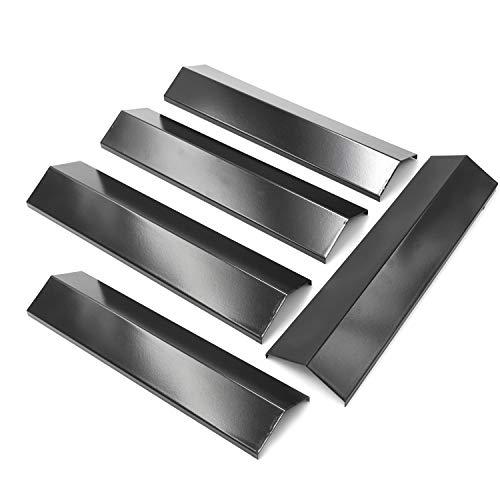 Hongso Porzellan-Stahl-Heizplatte für Brinkmann 810-1415-F, 810-1415-W, Uniflame GBC831WB, Charmglow 810-8410-F, Master Forge E3518-LP Grills, PPB311, 5 Stück (38,1 x 7,9 cm x 7,62 cm) -