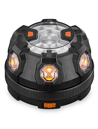 GREENTREEN LED Warnlicht für Auto, Warnleuchte mit Magnet, Notfall Pannenhilfe Warnblitzer Blinkend Warnlicht
