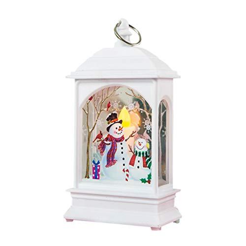 Dasongff Weihnachten Lichter Lichterkette Licht Simulation Flammenlicht Kleine Öllampe Kerze mit LED Teelicht Kerzen Innen Außen Lichter Garten Hochzeiten Dekoration Geburtstag Party Elch