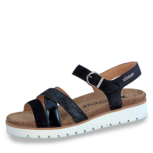 5acd53ce3c MOBILS by MEPHISTO Thina Classic Women's Sandals with Removable Cork  Footbed 12245-30055 - 19545