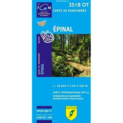 Epinal GPS: IGN.3518OT