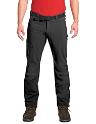 Maier Sports Herren Wanderhose NIL / Trekkinghose / Funktionshose / Tourenhose, Roll Up, Sachwarz (black), 102, 132001