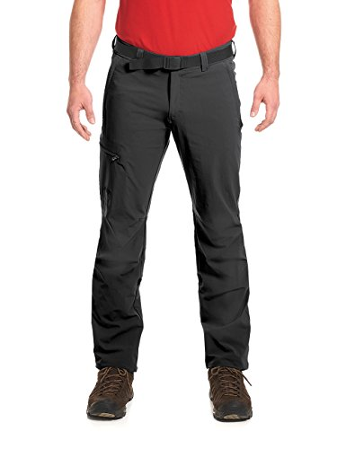 Maier Sports Herren Wanderhose NIL / Trekkinghose / Funktionshose / Tourenhose, Roll Up, S