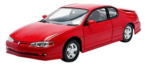 Sunstar-1987-Chevrolet-Monte Carlo SS-Escala 1/18-Rojo