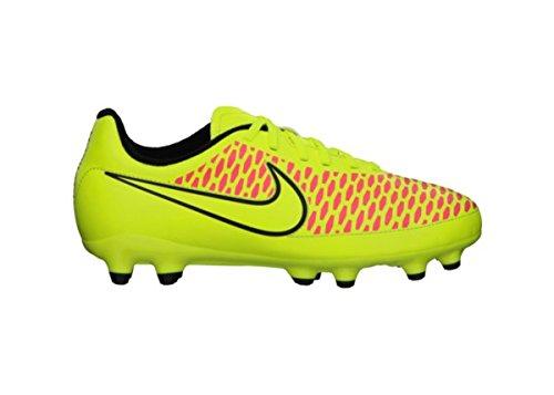 Nike Magista Onda FG Jr Scarpe da Calcio Unisex per Bambini, (- Rot/Schwarz (Volt/Volt-Black-Hyper Punch)), 4 Años