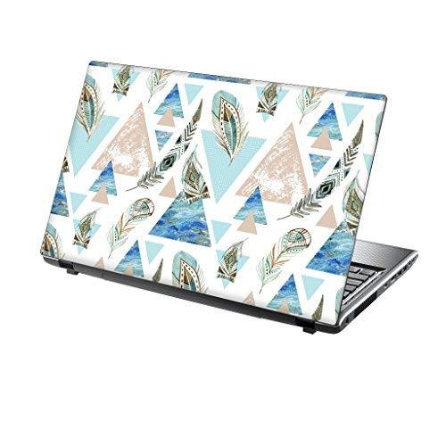 TaylorHe adesivo per computer portatile vinile motivi colorati ed effetto pelle laminato prodotto Inghilterra Skin protettiva per portatile da 15