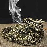 kreative persönlichkeit nachahmung kupfer drachen aschenbecher,blau