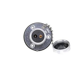 HELLA 8JB 002 281-001 Steckdose, Schraubkontakt von 6 bis 8 mm², 2 –polig, 42 V