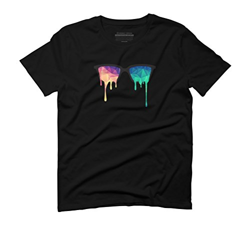 Design By Humans  Herren T-Shirt, schwarz, 85274-3-5-10-DBH.AMEU