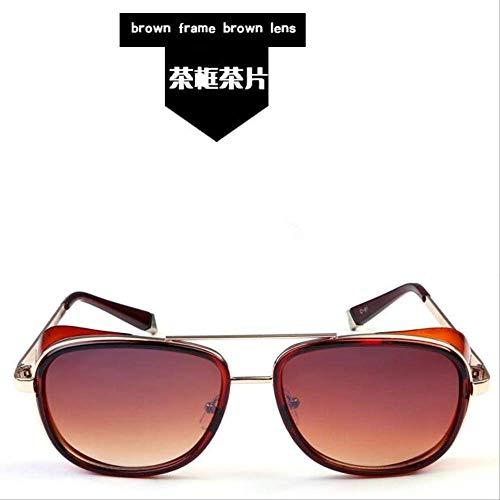 MJDL Sonnenbrille männer gespiegeltdesignermarkefrauenbrillevintagerotelinsesonnenbrilleuv400hd3023 02