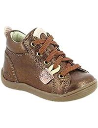 c25317fafbf4e Amazon.fr   Orange - Bottes et bottines   Chaussures fille ...