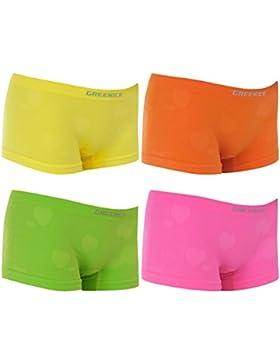 4er Pack Kinder Mädchen Pantys aus weichem Mikrofaser in verschiedenen Farben