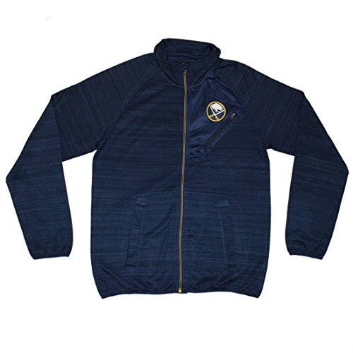 Big & Tall NHL mens Buffalo Sabres Athletic zip-up calda giacca, Uomo, Dark Blue Dark Blue