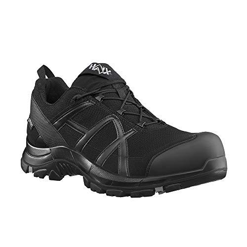 Haix Black Eagle Safety 40 Low Black/Black S3-Sicherheitsschuhe für Handwerk und Industrie. 44