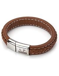 c774ceba1b5c Amazon.es  cierres para pulseras de cuero - Plata  Joyería