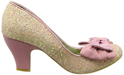 Irregular Choice Ban Joe, Escarpins femme Rose