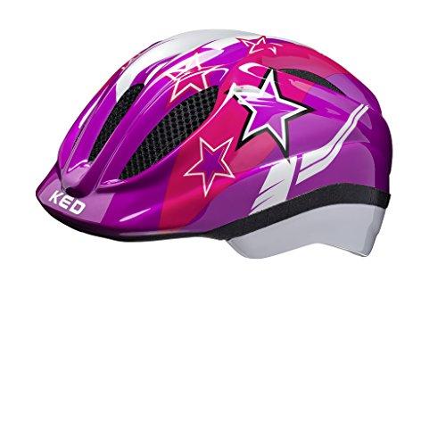 KED Meggy II Helmet Kids Violet Stars Kopfumfang XS | 44-49cm 2018 mountainbike helm downhill