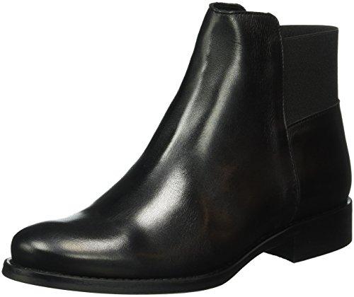 Bianco Dress Boot W/Elastic Son16, Bottes Classiques femme Noir - Schwarz (Black/10)