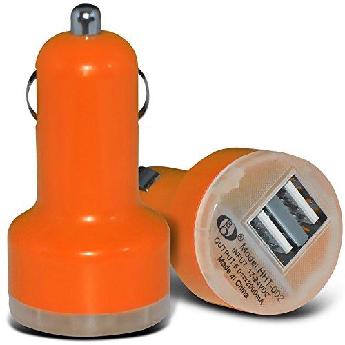 Fall für iPhone 7 Plus-Handy Smart Pinchers Form-Auto-Halterung Halter von i -Tronixs USB BLU Studio C HD Charger (Orange)
