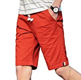 Tootlessly-Men Casual Pure Color Relaxed-Fit Plus Size Drawstring - Best Reviews Guide