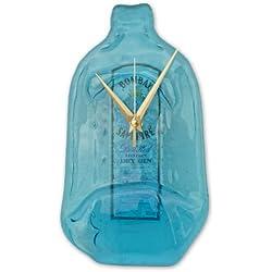 BottleClock Bombay Sapphire - Reloj con forma de botella