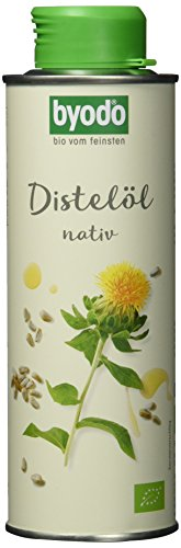 Byodo Bio Distelöl nativ, 6er Pack (6 x 250 ml)