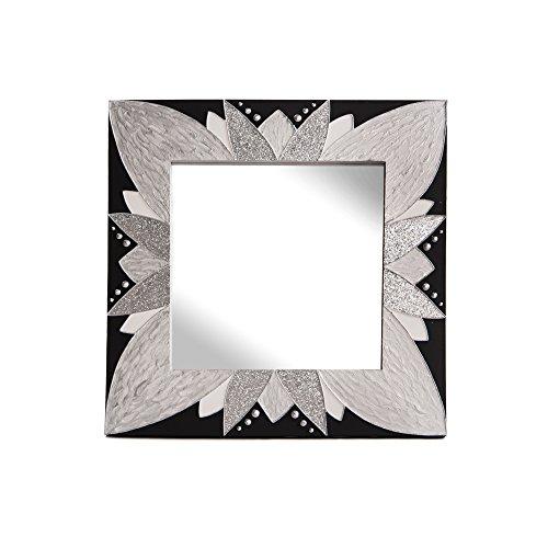 Lohoart L-1250-3 - Espejo Sobre Lienzo Pintado Artesanal