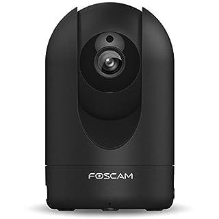Foscam R2 BLACK - Cámara de seguridad con 2 MP, 1920 x 1080 Pixeles, P2P, IR Visión Nocturna, lector de tarjetas MicroSD, detección de movimiento, Negro (B01FK4X480)   Amazon Products