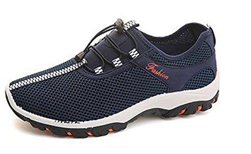 Ein bißchen Neue Mode Verstand Herren Outdoor Wanderschuhe Kletterschuhe blau -a