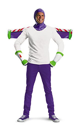 Disguise 198458 Toy Story Buzz Lightyear-Kost-m Kit (Buzz Lightyear Handschuhe)