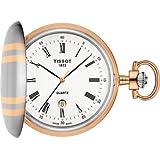 Orologio da tasca Tissot T-Pocket T8624102901300 Al quarzo (batteria) Ottone Quandrante Bianco Cinturino - non applicabile