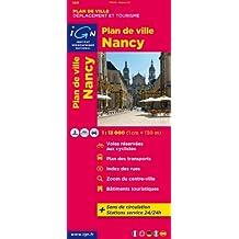 Nancy Plan de Ville 1 : 13 000 (Ign Map)
